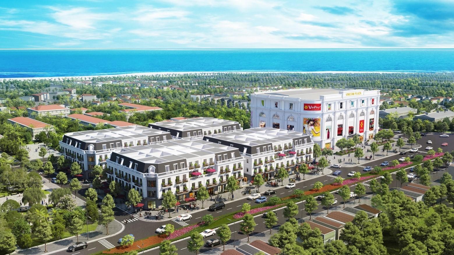 """Phối cảnh minh họa tổ hợp TTTM và Vincom Shophouse Phú Yên  <img src=""""images/"""" width="""""""" height="""""""" alt=""""Công ty Bất Động Sản Tanlong Land"""">"""